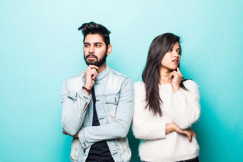 junges modernes muslimisches Paar