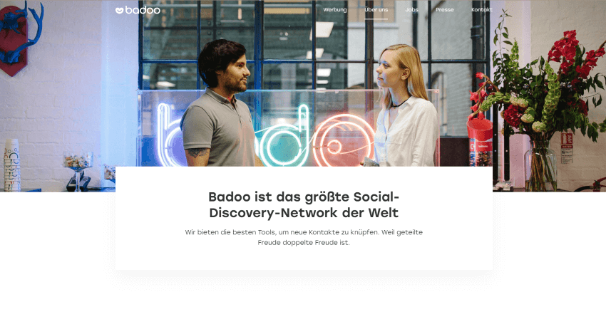 Badoo das größte Social-Discovery-Netzwerk