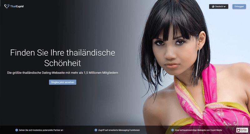 Screenshot von Thai Cupid mit einer lasziv schauenden Asiatin
