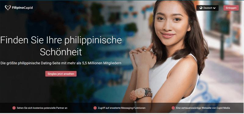 Filipino Cupid zeigt philippinische Single Schönheit