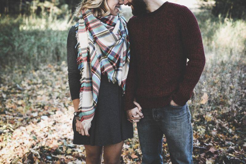 Verliebtes christliches Paar
