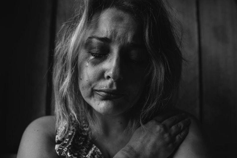 Opfer von Missbrauch